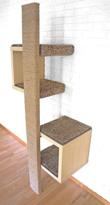 ein g nstiger designer kratzbaum kratzm bel mit sch nem design katzenb ume chat maison. Black Bedroom Furniture Sets. Home Design Ideas