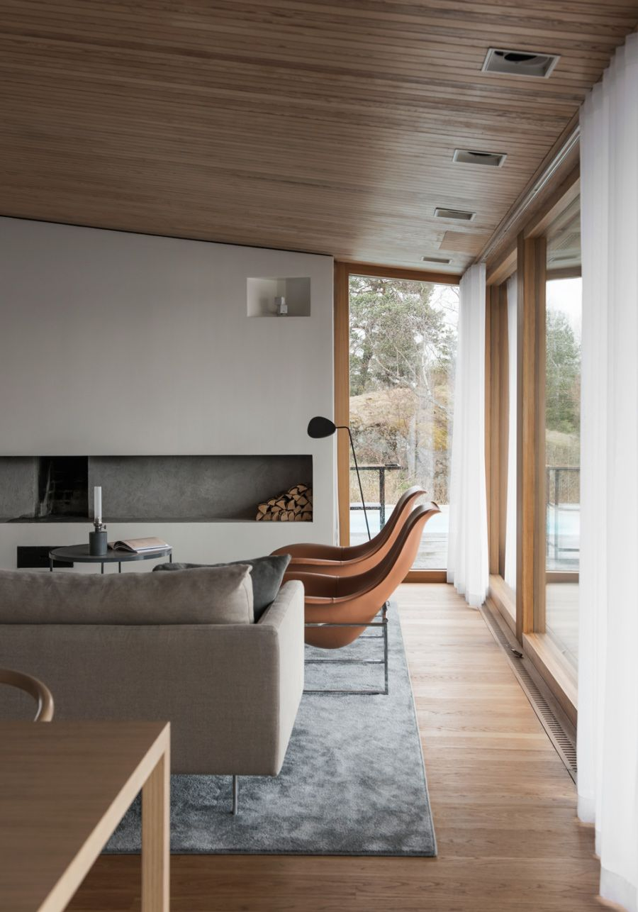 An Outdated 1960s Swedish Villa is Transformed Into a Spacious ...