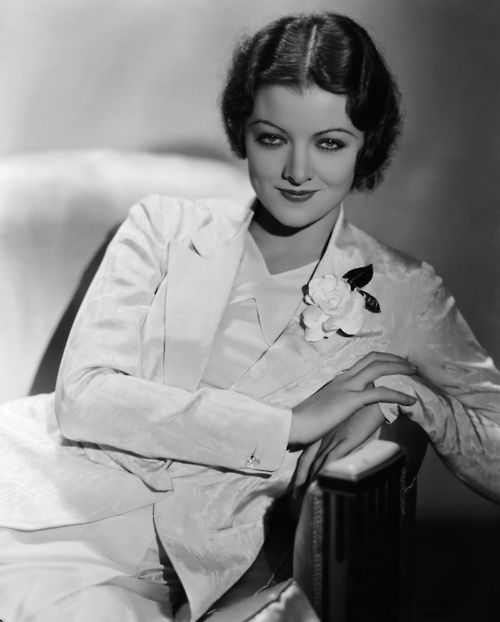 Myrna Loy the Queen of Hollywod.