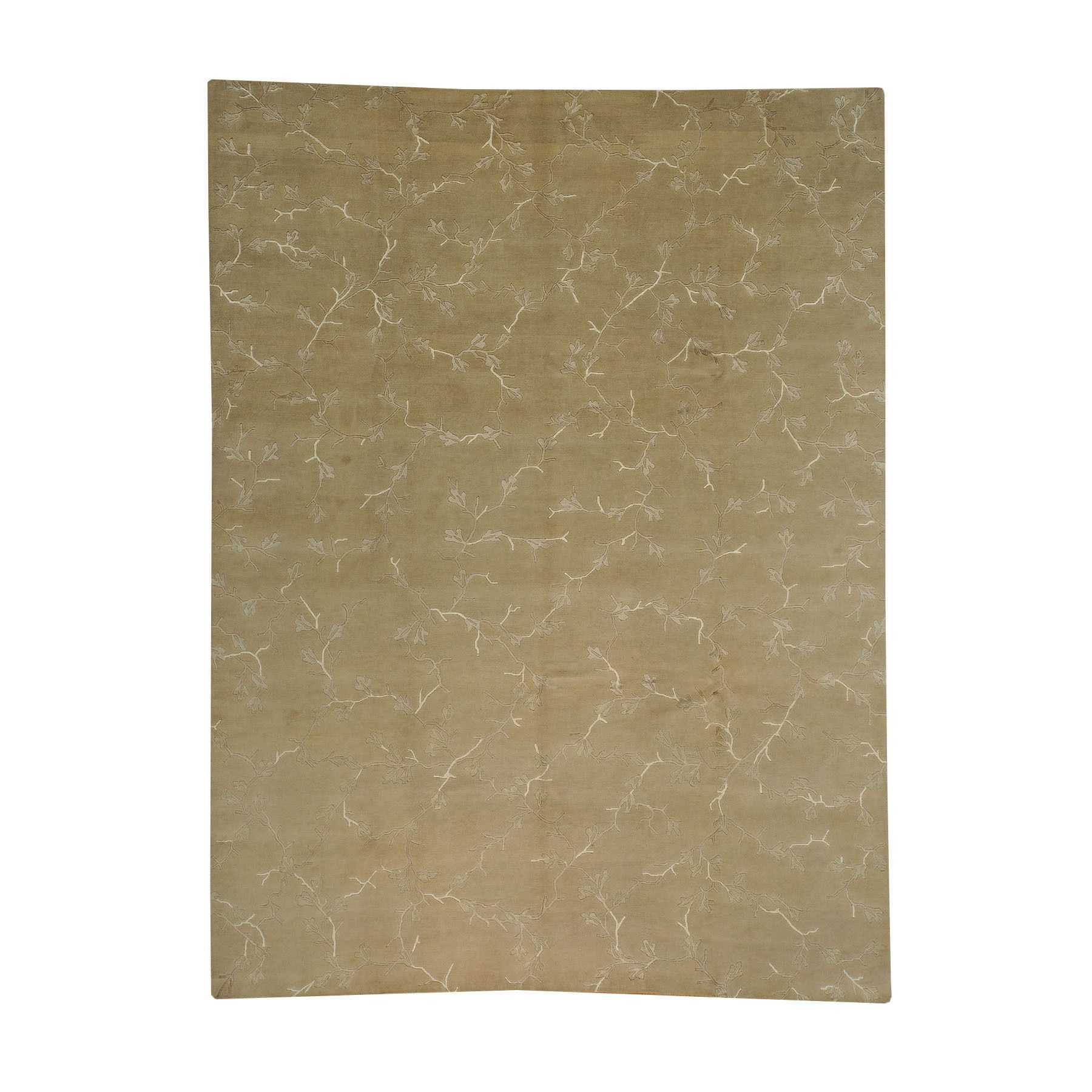 1800getarug and Silk Modern Hand-knotted Area Rug