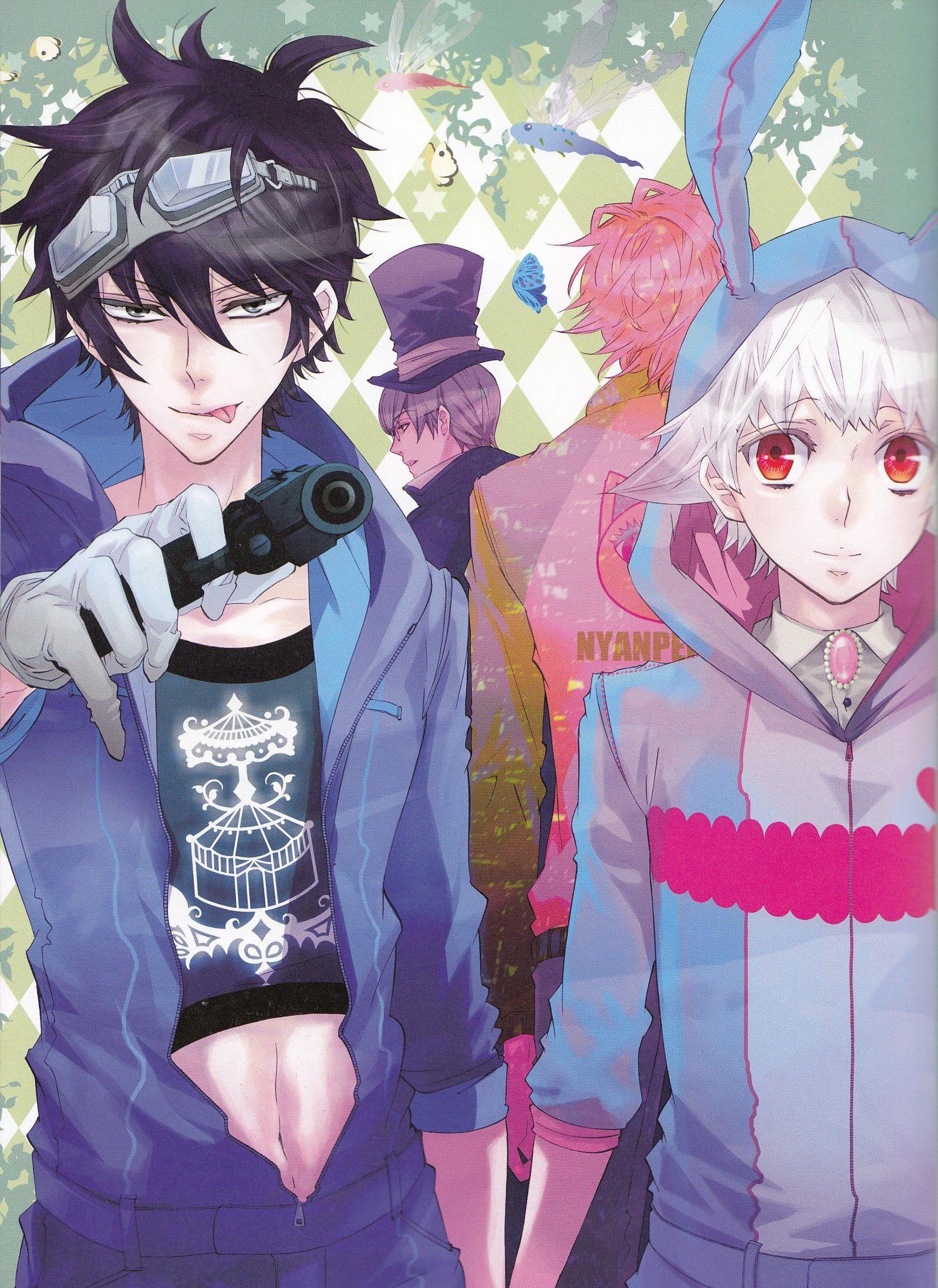 Karneval Gareki & Nai | Karneval | Anime, Manga love ...