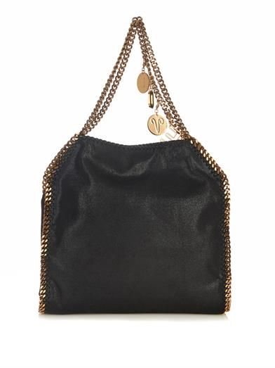 Falabella Love small faux-suede shoulder bag | Stella McCartne...