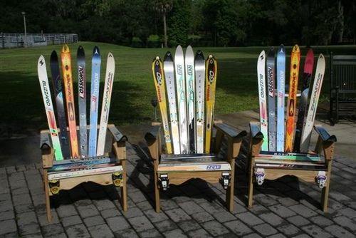 Adirondack Chairs Made Water Skis