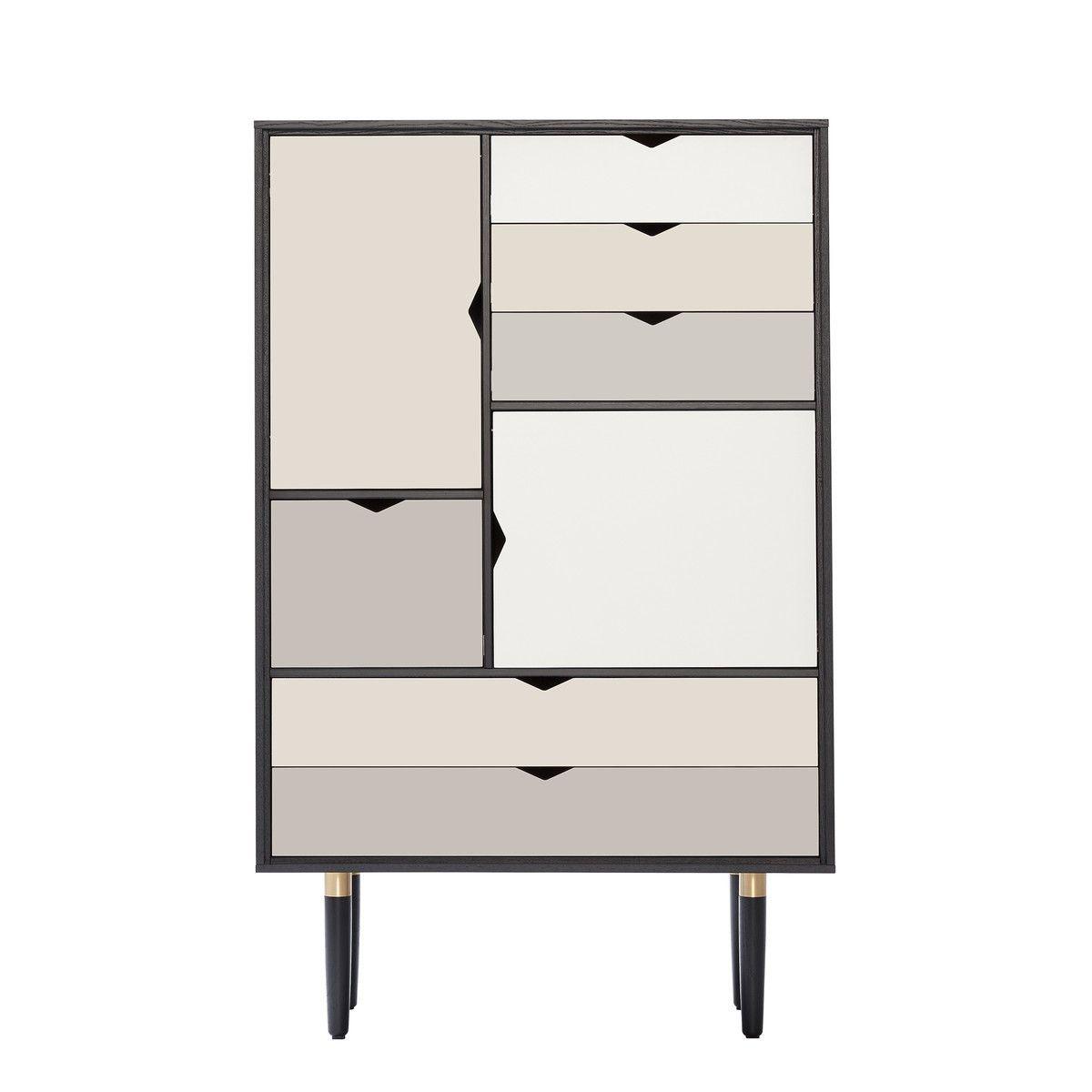 Andersen Furniture   S5 Kommode, Eiche Schwarz Lackiert/ Fronten Silber,  Beige, Metallgrau Jetzt Bestellen Unter: Https://moebel.ladendirekt.de/ Wohnzimmer/ ...