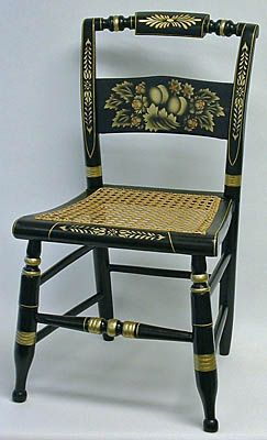 Hitchcock Chair Antique Dining Room Furniture Antique Chairs American Furniture