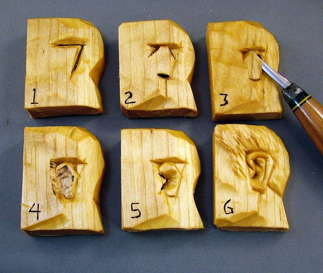 Carving an ear tutorials pinterest