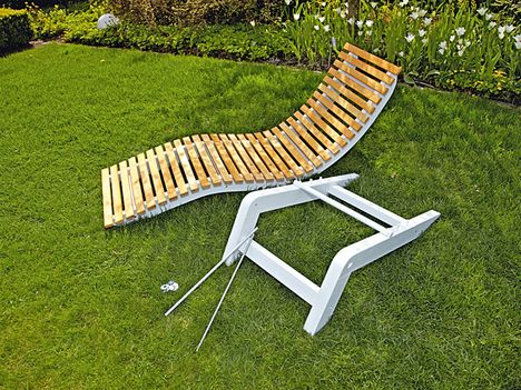 Gartenliege строить из себя САМИ DIY журнал Мебель для бани - gartenliege holz selbst gebaut