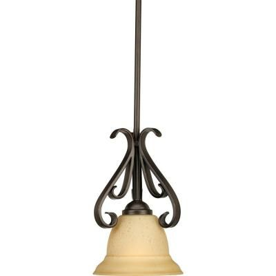 Torino Collection 1 Light Forged Bronze