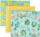 "Babyville PUL Waterproof Diaper Fabric 21""X24"" Cuts 3/Pkg-Playful Pond & Ducks"