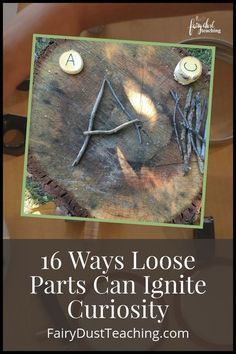 Loose Parts are a key element in the Reggio Emilia approach to learning. They allow children to construct their own knowledge and understanding of the world around them. Let's take a look at 16 Ways Loose Parts Can Ignite Curiosity | Fairy Dust Teaching | Reggio Emilia Materials and Ideas | Loose Parts Play