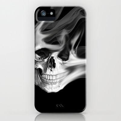 Smokin Skull iPhone Case by NKlein Design - $35.00