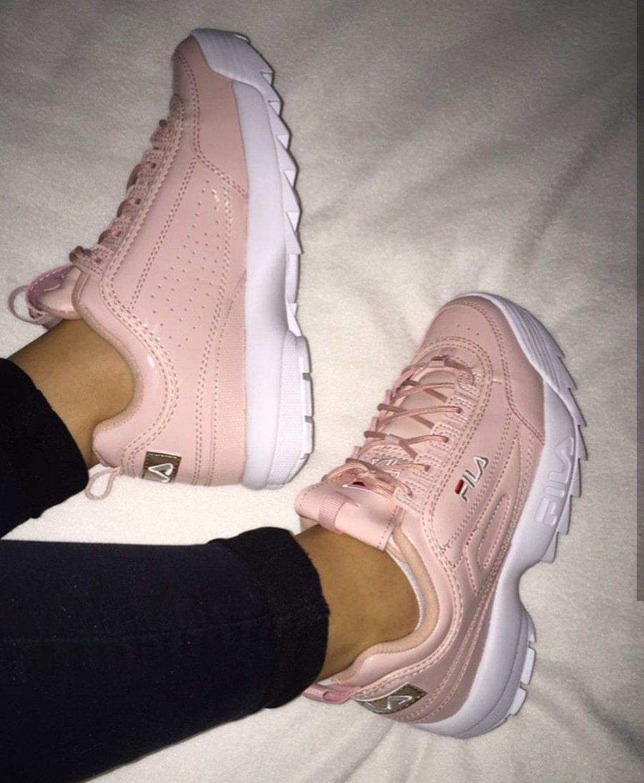 Fila Disruptor in rosé/rosa // Foto: victoria45__ |Instagram | $HOES ...