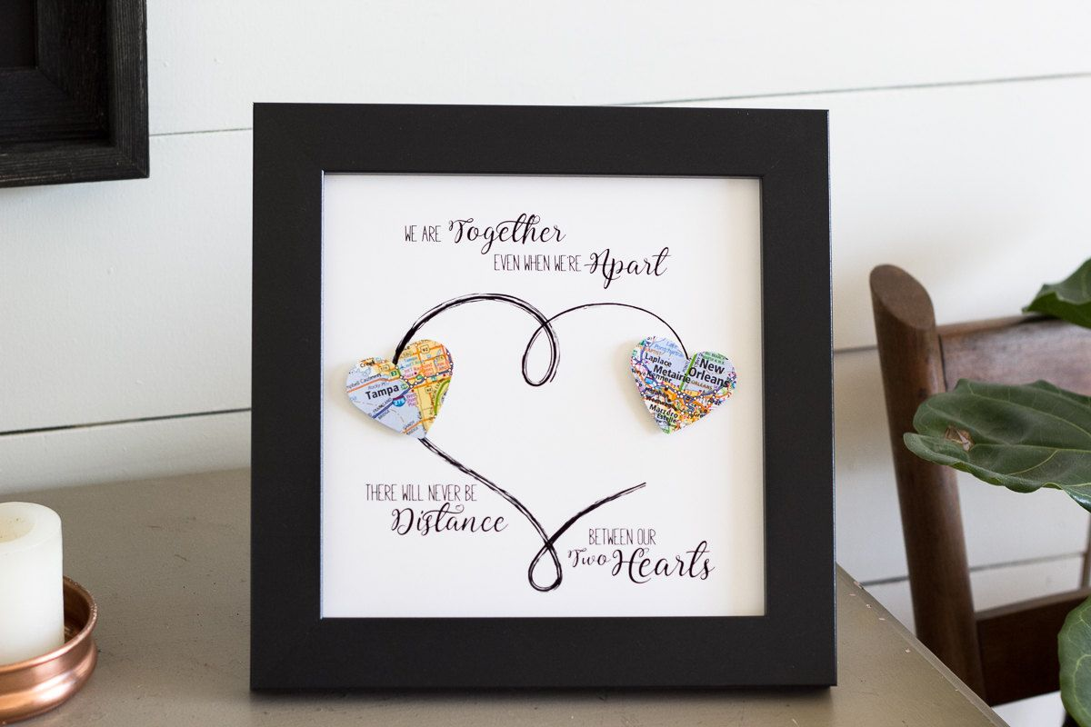 Personalized Best Friend Gift Long Distance Gift Miss You