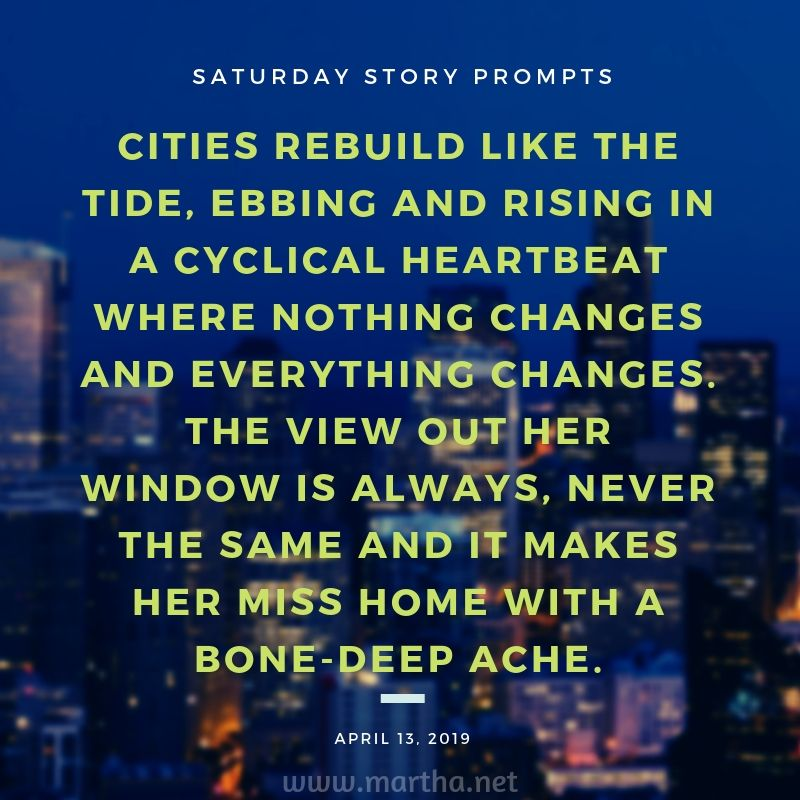 Saturday Story Prompts [2019 04 13] | Saturday Story Prompts | Story