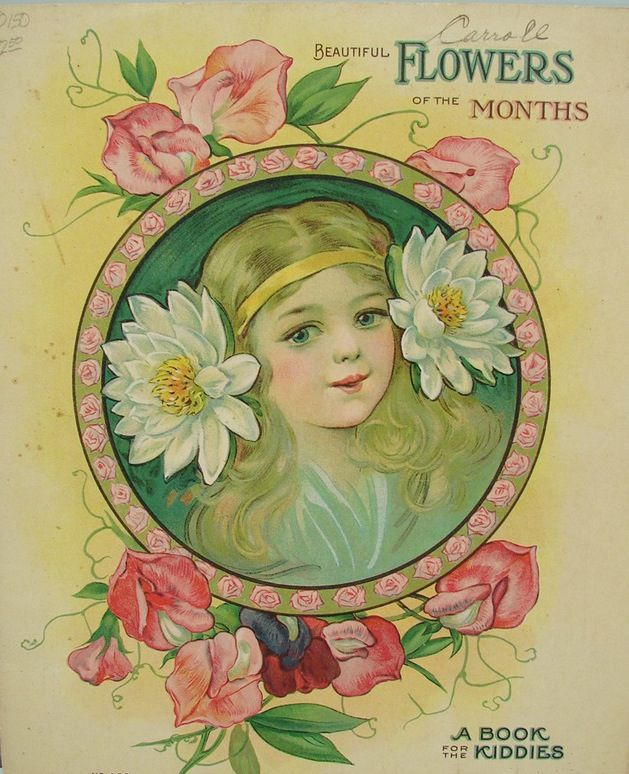 Beautiful Flowers of the Months, A Book For The Kiddies, 1918