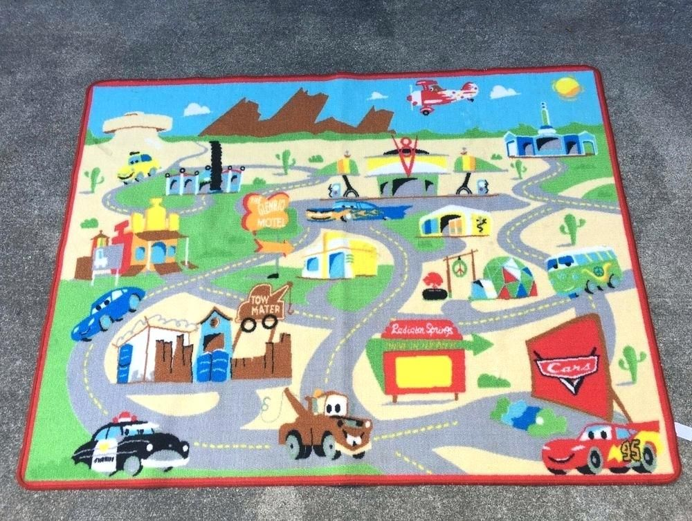 New Disney Cars Rug For Details About