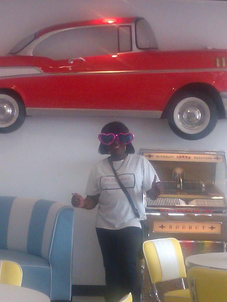 Inside Hot Rod Diner!