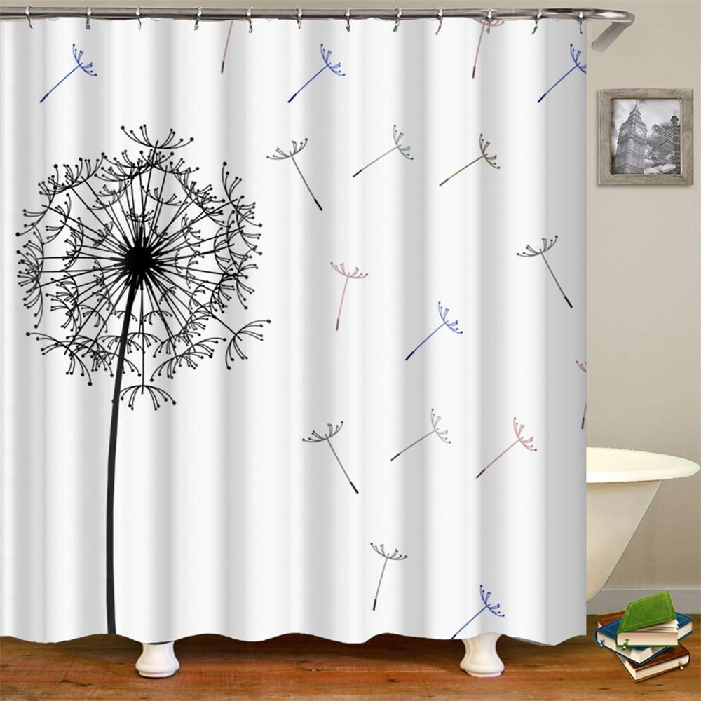 Order This Limited Editiondandelion Shower Curtain 1 Pc Now