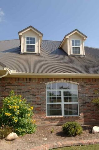 Best Corrugated Burnished Slate 3 Metal Roof Metal Roof 400 x 300