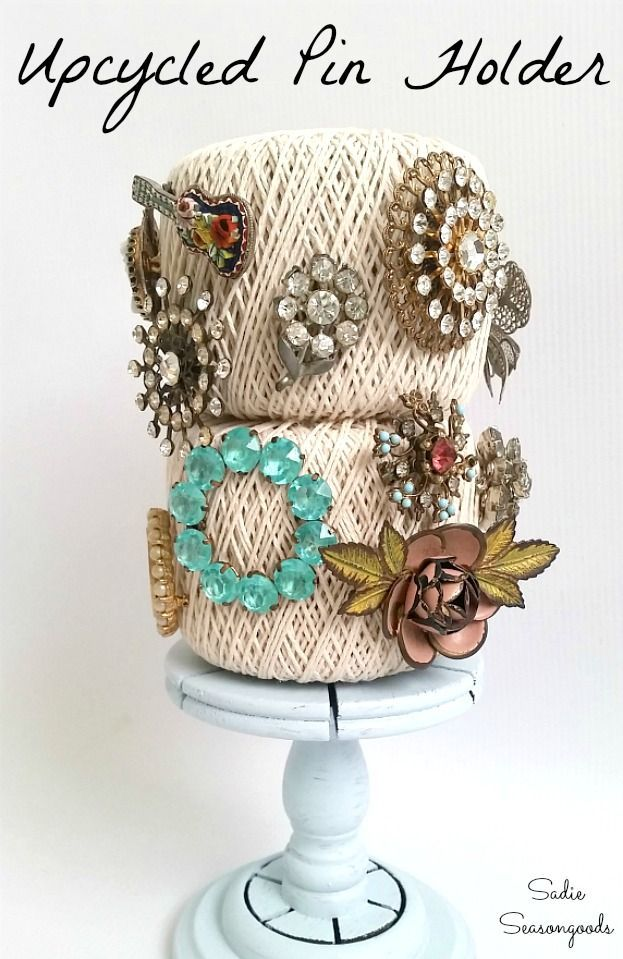 Vintage Jewelry Repurposed Upcycling Brooches