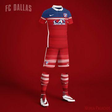 Spanish designer Nerea Palacios has created 22 unique Nike MLS Concept Kits. 63f9b59db2d