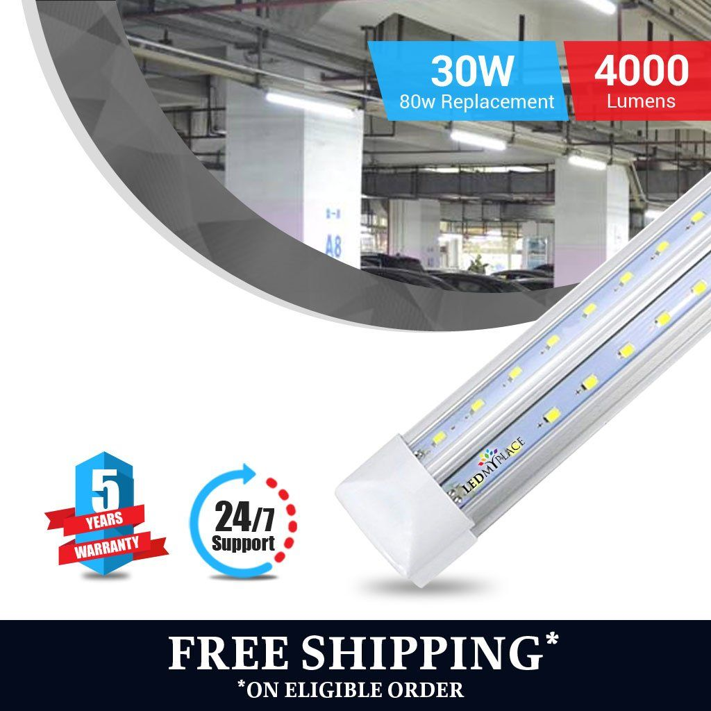 Us Based Factory Direct Pricing Note Remove The Ballast Or It Will Blow Off The Bulb These Bulbs Dont Need Ballast Led Tubes Tube Light Led Shop Lights
