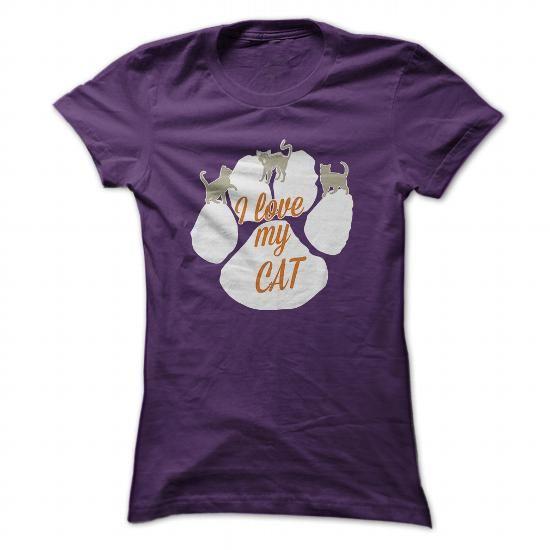 I love my Cat - #vintage shirt #shirt fashion. I love my Cat, hoodie schnittmuster,sweatshirt girl. ORDER HERE =>...