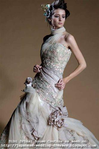funky japanese wedding dresses | Japanese Wedding Dresses Beyond the ...