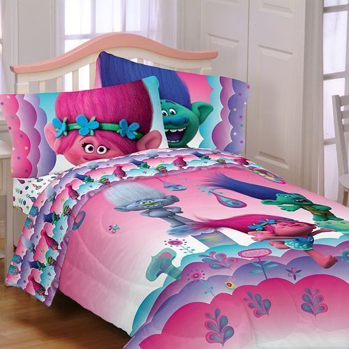 dreamworks trolls full size sheet set new dreamworks bedroom toys
