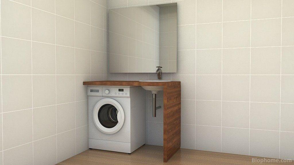 Loco con como meter la lavadora en el ba o decorar tu - Instalar lavadora en bano ...