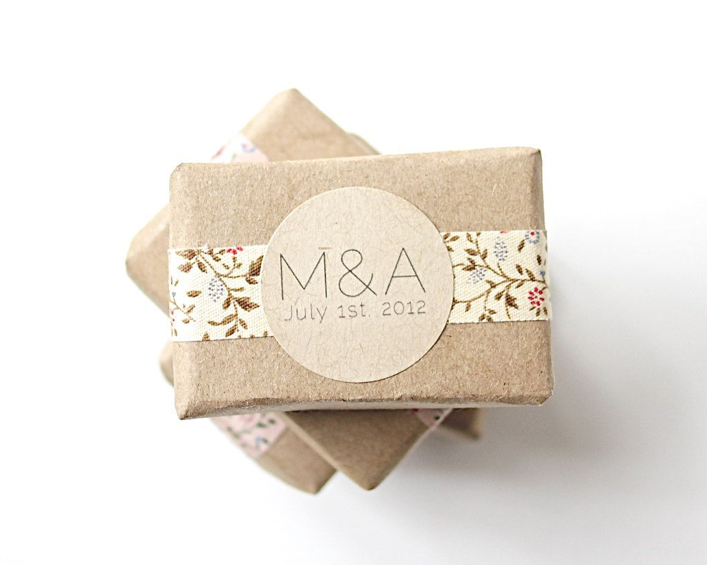 Handmade Wedding Gift Ideas: Wedding Favors. All About The Wrapping, Isn't It Beautiful