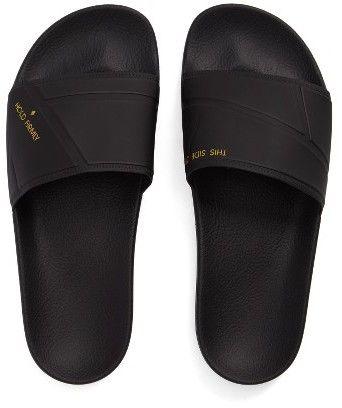 4656d7857f25c6 Men s Adidas By Raf Simons Bunny Adilette Slide Sandal