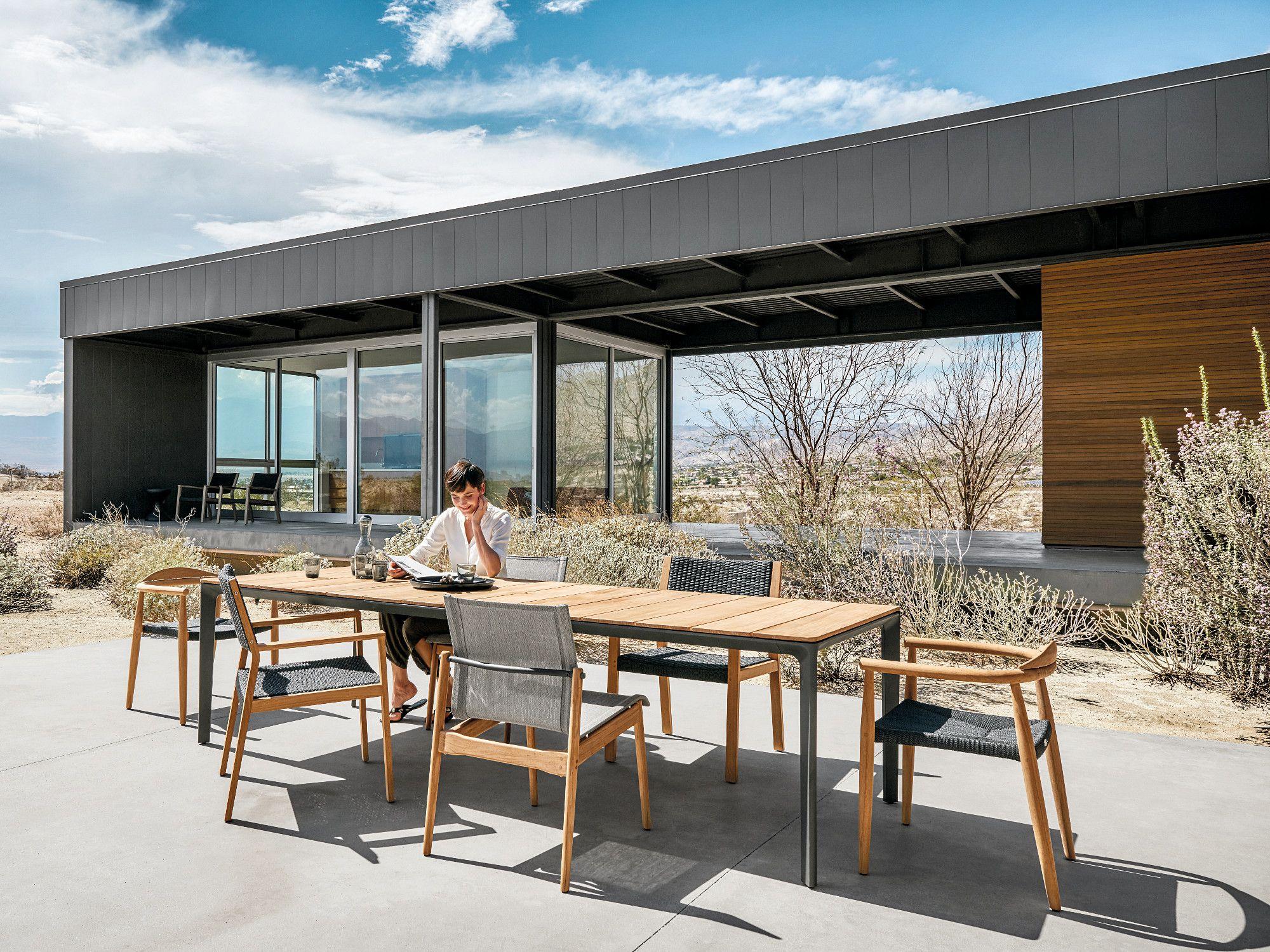 Schöne Outdoormöbel von Gloster. | HOME--OUTSIDE ROOM | Pinterest ...