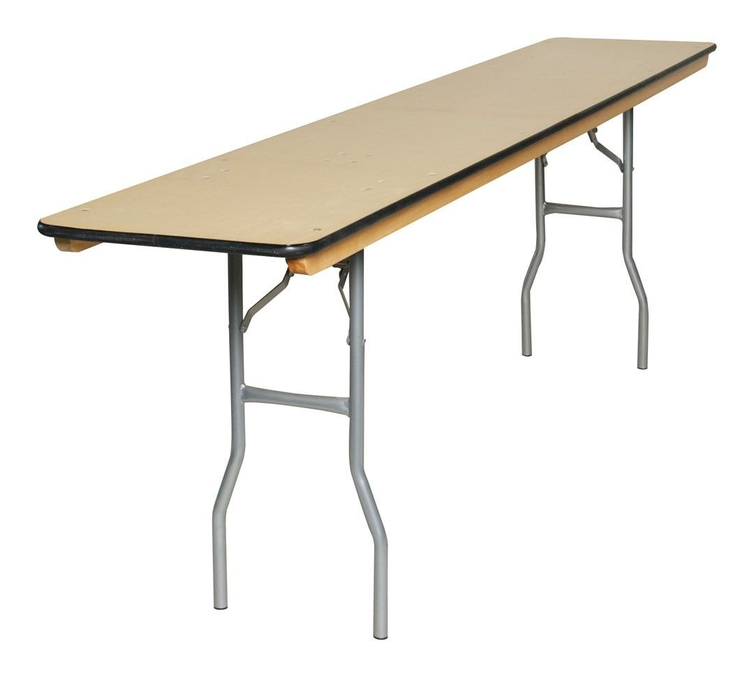 5 Foot Folding Table With Adjustable Legs Folding Table Wood Folding Table Folding Table Legs