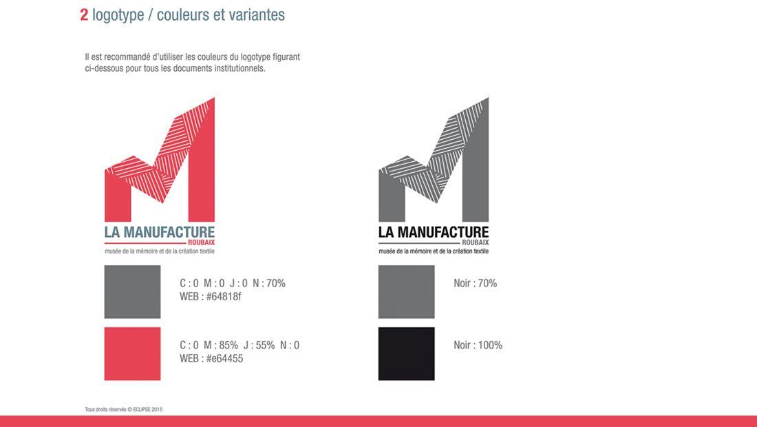 Extrêmement Studio Coyote | Graphisme charte graphique logo musée manufacture  OQ78