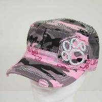 Cowgirl Bling Ranch, LLC - Paw print bling cap pink camo, $24.99 (http://www.cowgirlblingranch.com/products/paw-print-bling-cap-pink-camo.html)
