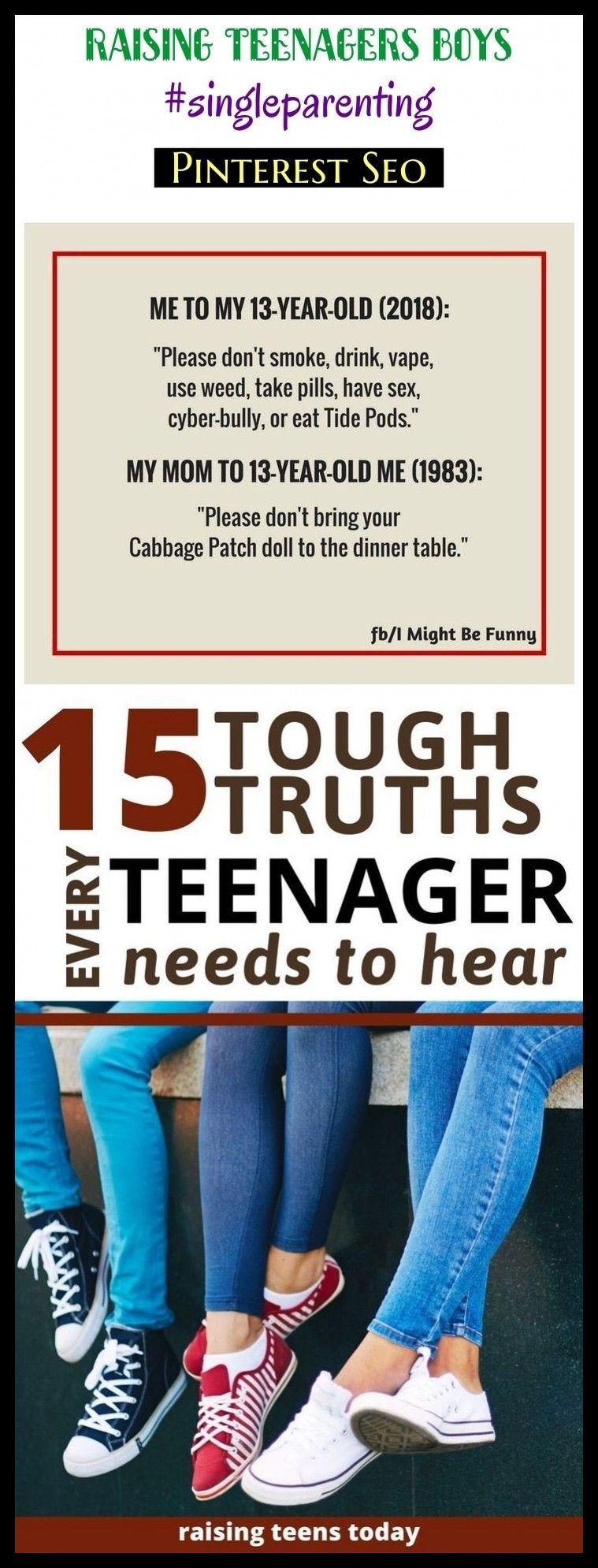 Photo of Raising teenagers boys #singleparenting #seotips #seo #kids. raising teenagers q…