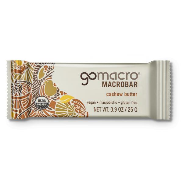 Snacks | VIVAIODAYS gomacro CASHEW BUTTER MACROBAR MINI $1.30