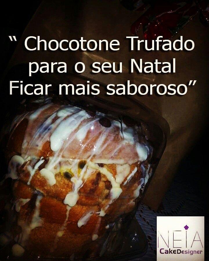 Chocotone Duo: trufa e mousse maracujá