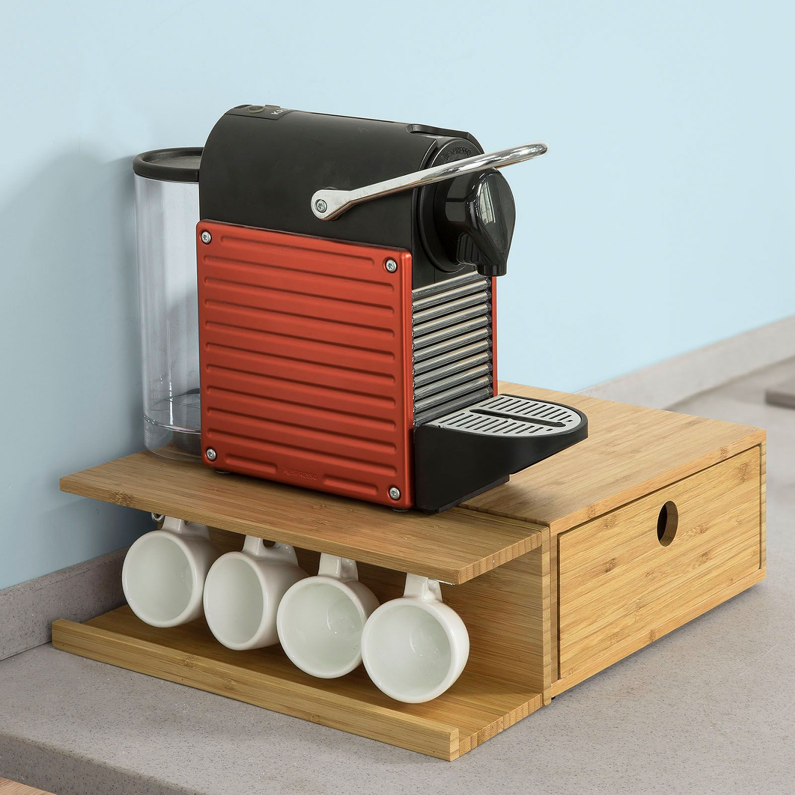 Coffee Capsule Holder Hack Kitchen Storage Hacks Coffee Capsule Holder Coffee Capsules