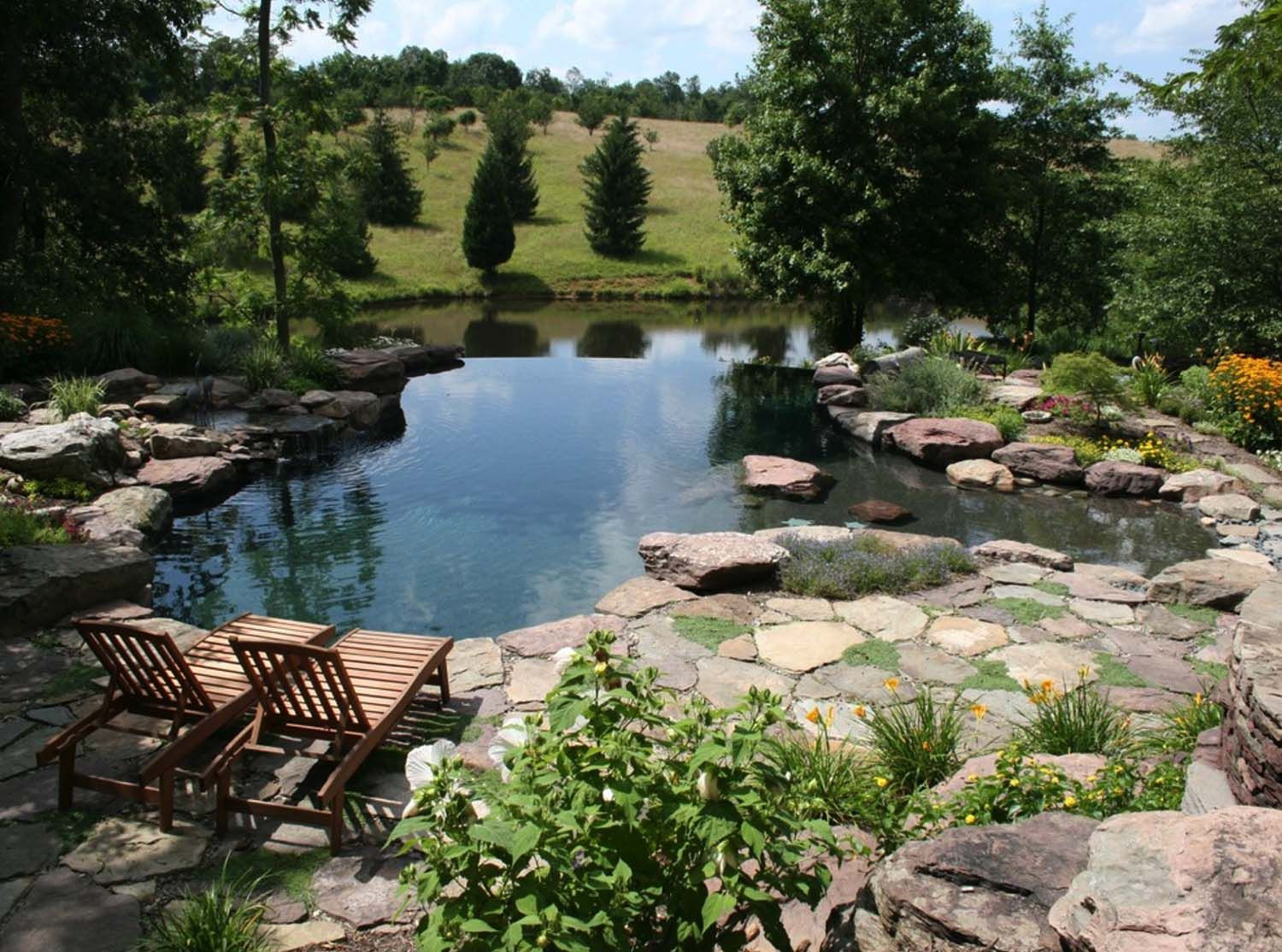 40 Absolutely Spectacular Infinity Edge Pools Natural Swimming Ponds Ponds Backyard Natural Swimming Pools