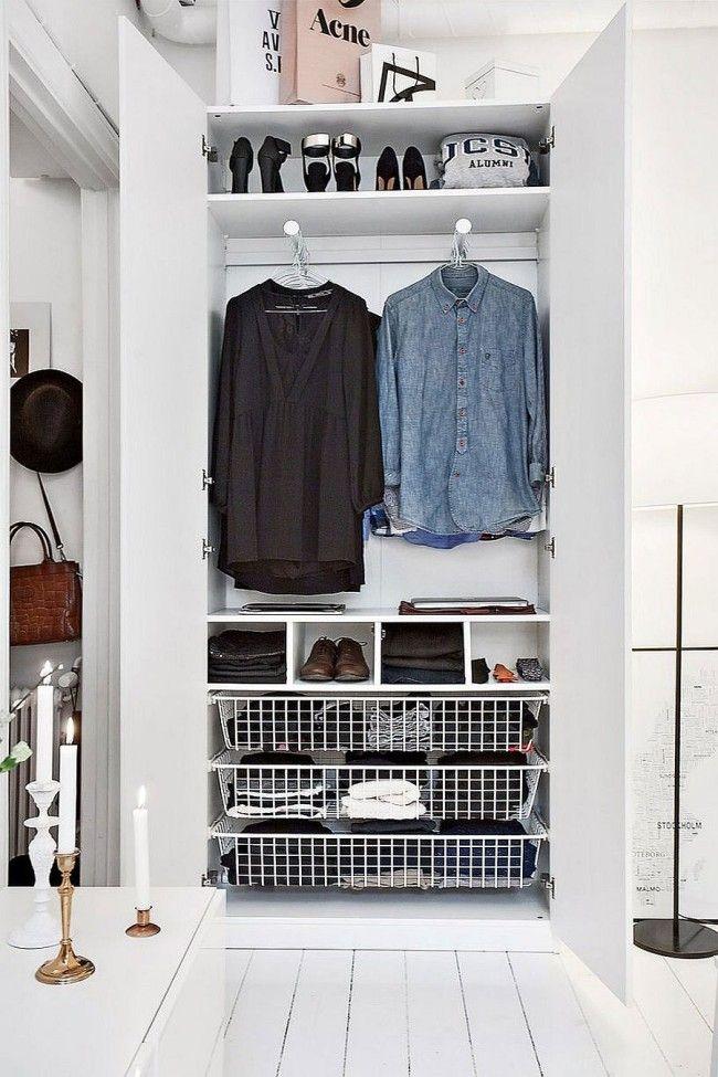 20 Sqm Apartment in Stockholm with Scandinavian Design в