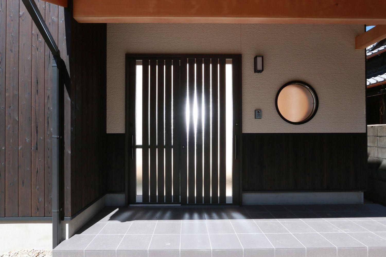 玄関ドア 室内ドア 建具事例集 家 和モダン 玄関 玄関