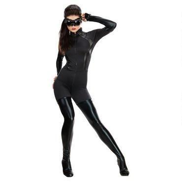 Adult Womens Catwoman Dark Knight Rises Batman Gotham City Costume 880631 Large