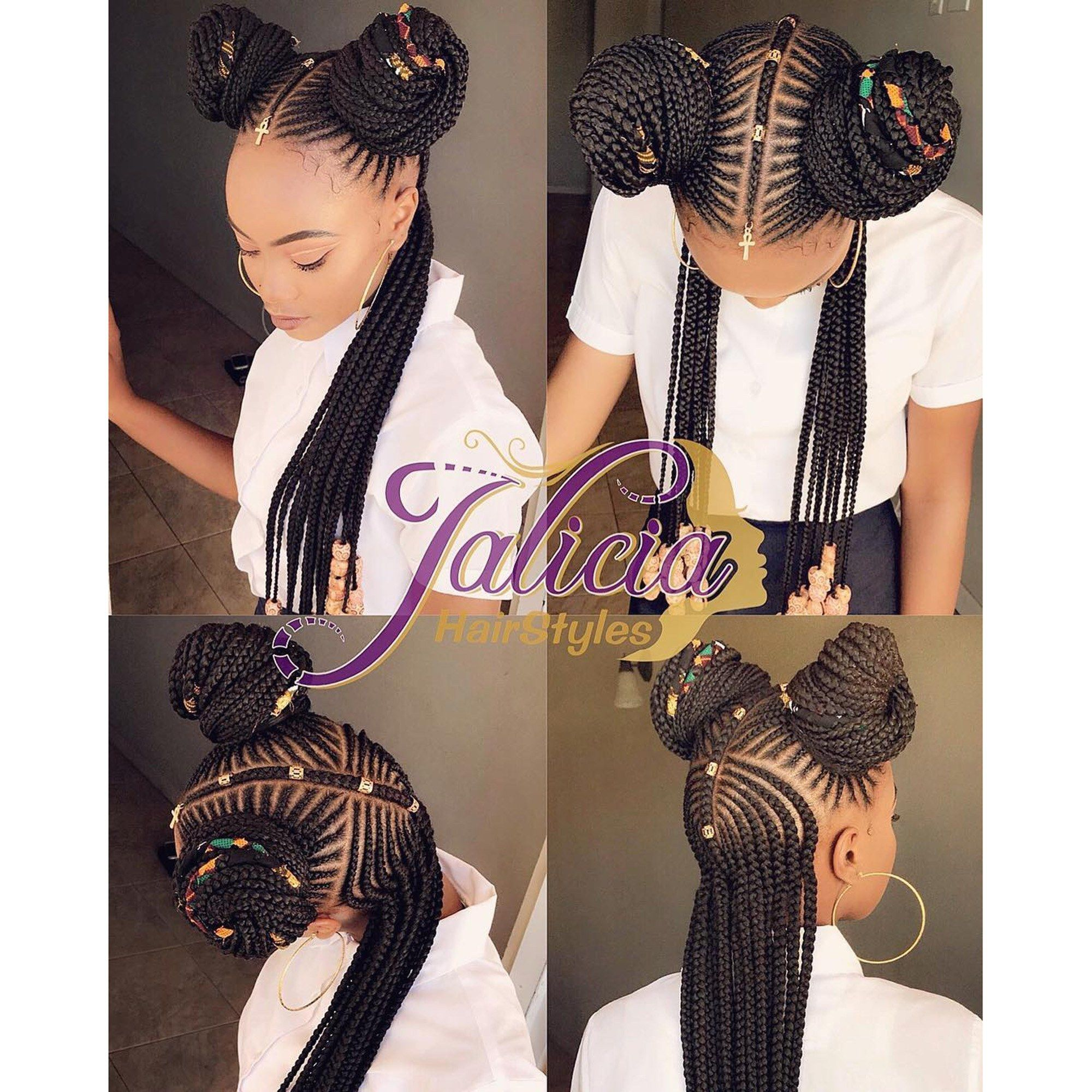 gorgeous black braided hairstyles that will inspire your next
