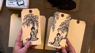 tim holtz distress ink techniques - YouTube