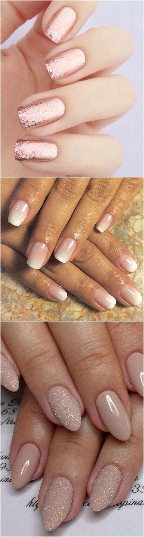 Wedding nail design ideas #wedding #bridalfashion #bridalnails | Top ...