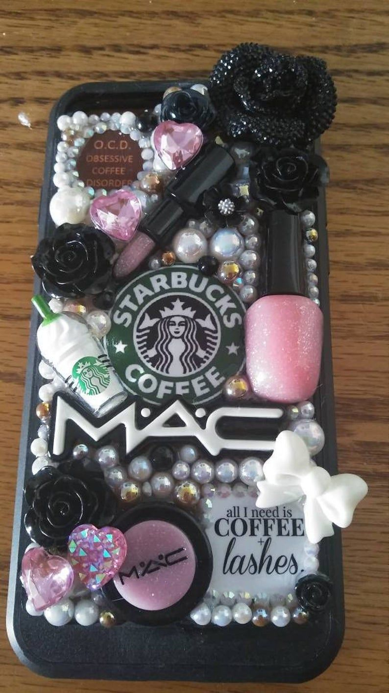 Starbucks Coffee Make Up iPhone Samsung Galaxy Case Note 5