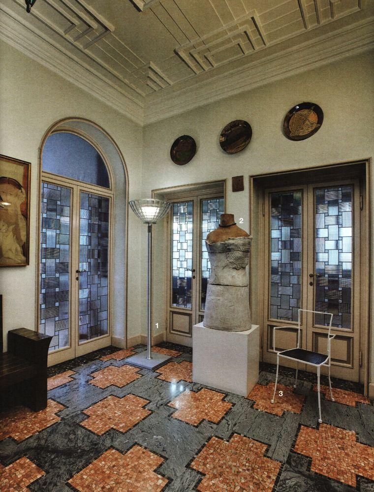 Casa Museo Boschi Di Stefano.Casa Museo Boschi Di Stefano Milano Hallway Staircase In 2019