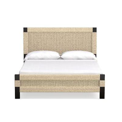 Amalfi Woven Bed, King, Espresso, Seagrass   Pinterest